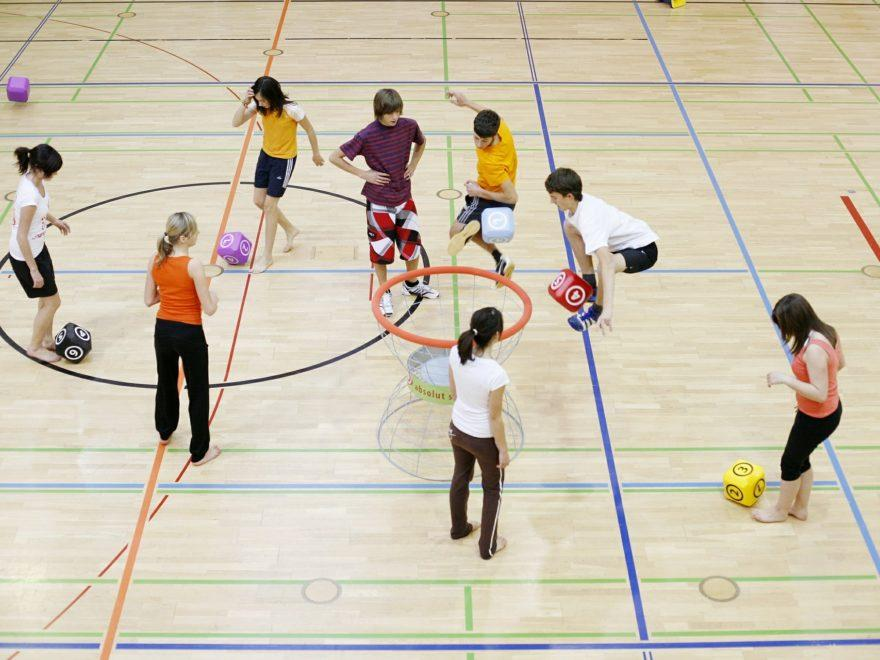 Handball ohne Halle